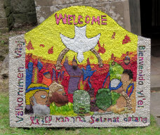 Welcome Well Dressing