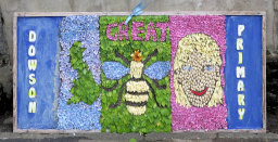 Dowson Primary School Well Dressing