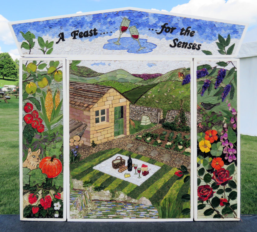 Chatsworth 2019 - Tideswell Well Dressing