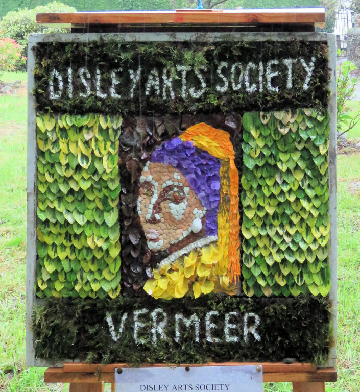 Disley 2019 - Disley Arts Society Well Dressing