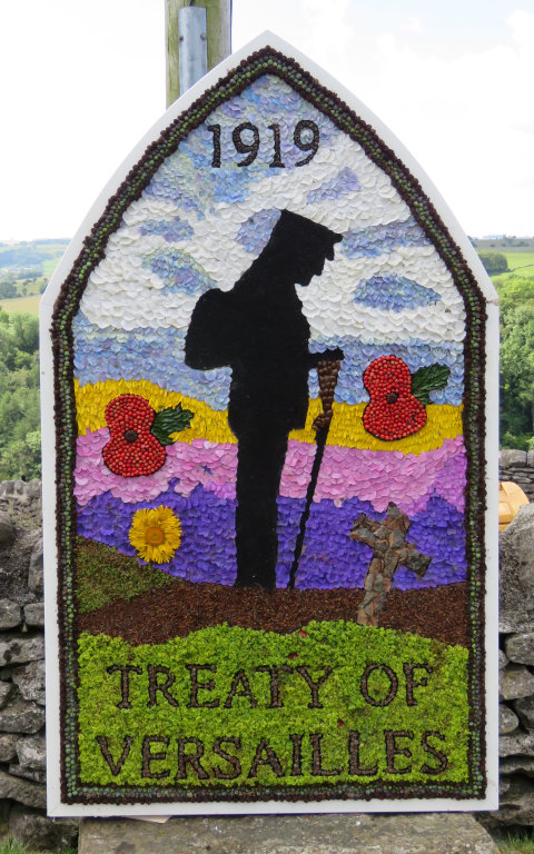 Over Haddon 2019 - Junior Well Dressing