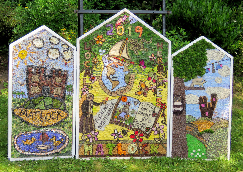 Matlock 2019 - Princess Diana Memorial Garden Well Dressing