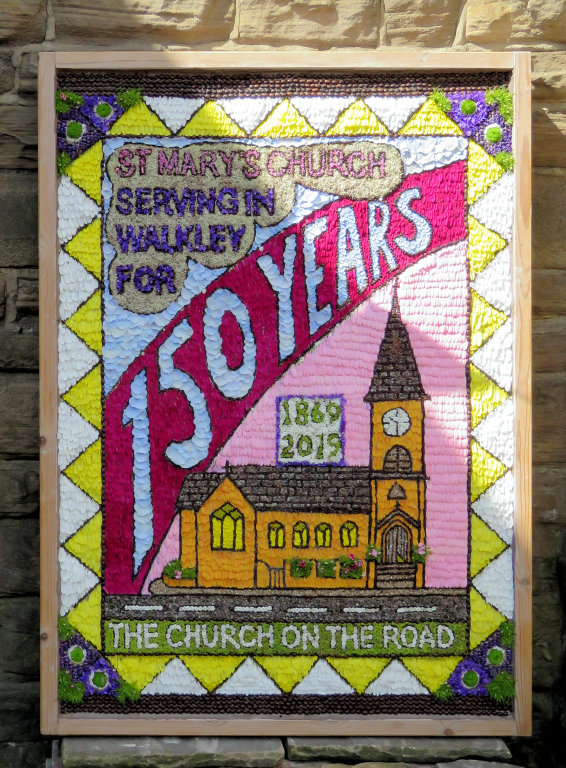 Walkley 2019 - St Mary's Church Well Dressing