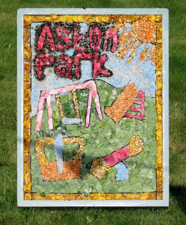 Aston-upon-Trent 2019 - Aston Pre-School Well Dressing