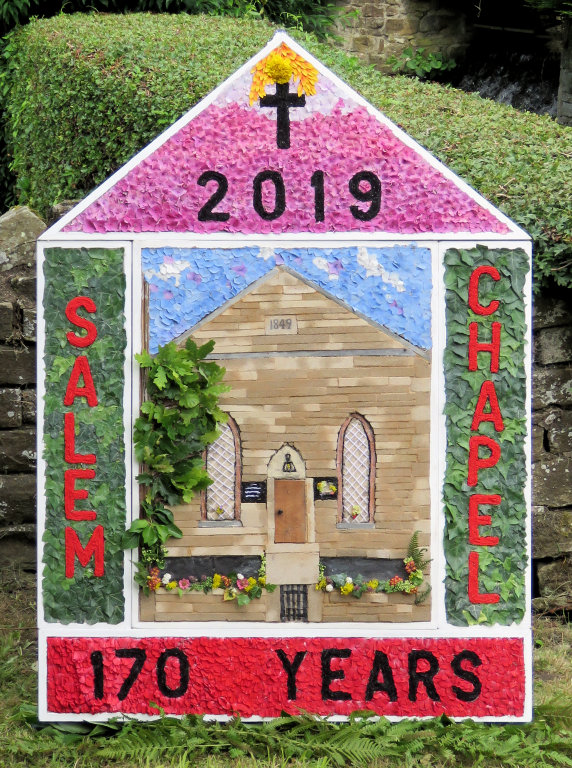 Wingerworth 2019 - Sheepwash Well Dressing (1)