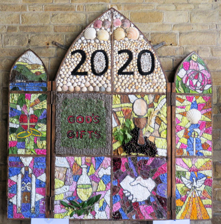Chesterfield 2020 - St Mary and All Saints Church Well Dressing