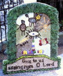 Wirksworth CE Primary School Well Dressing
