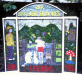2nd Bakewell Brownies Well Dressing