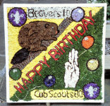 Cubs & Beavers Well Dressing