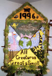 Old Hearse House Well Dressing