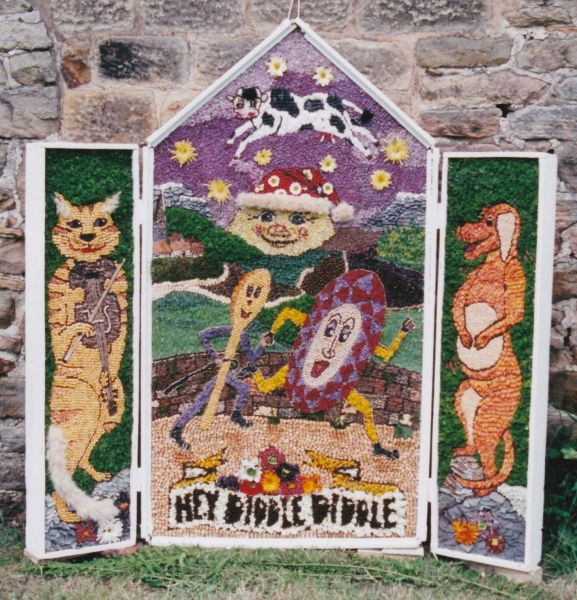 Brackenfield 1999 - Ashover Primary School Well Dressing