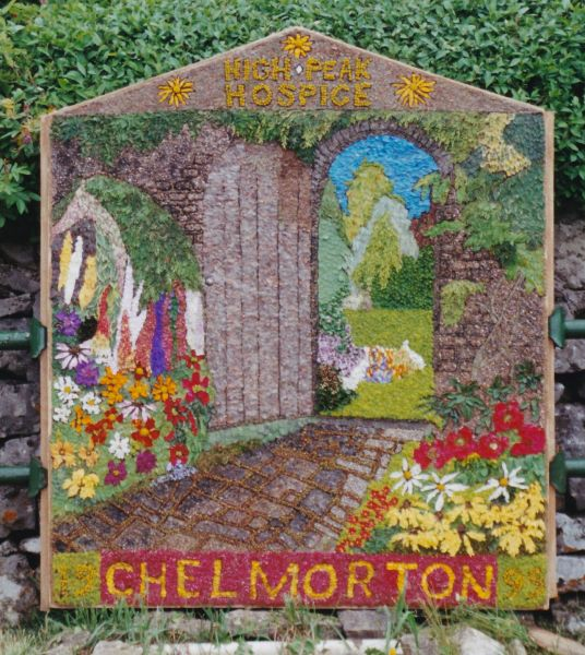 Chelmorton 1999 - Village Well Dressing