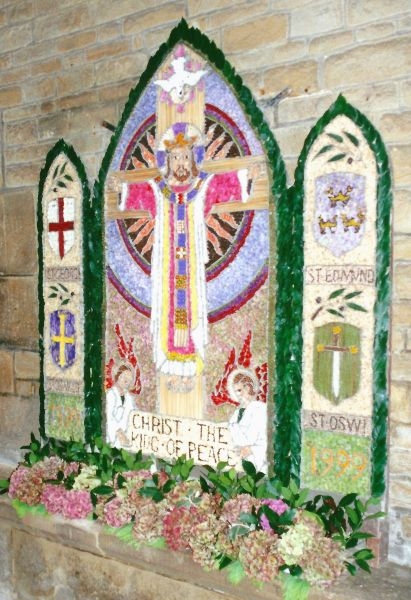 Chesterfield 1999 - St Mary and All Saints Church Well Dressing