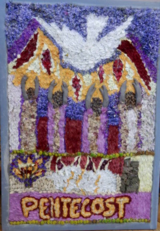 Handsworth (Sheffield) 2016 - Old Rectory Well Dressing